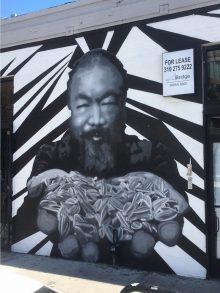 Ai wei wei street art