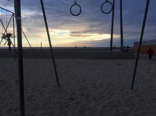 Sunset from Muscle Beach Venice