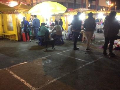 Mercado de noche Otavalo