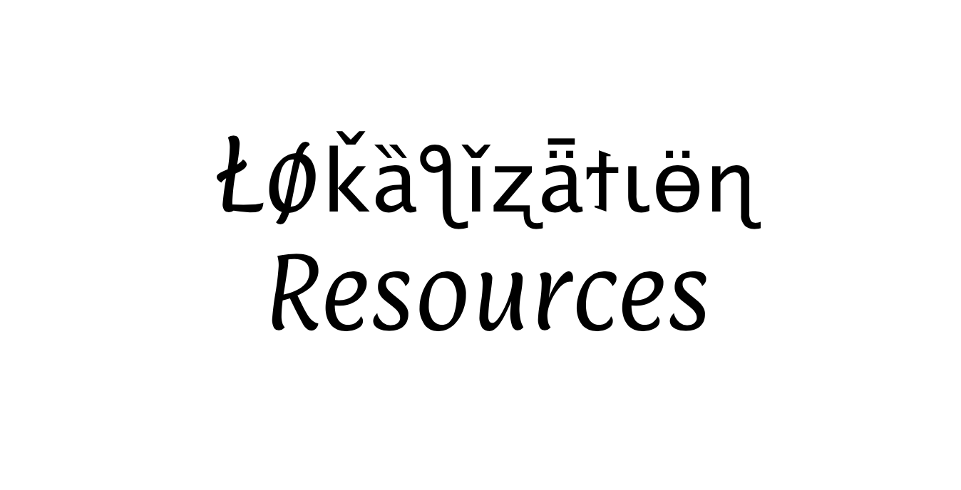 Localization Resources For L10n Professionals Backpacking Diplomacy