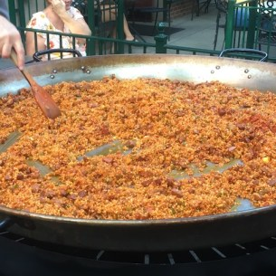 Boise Basque Festival food