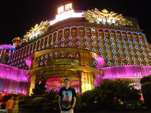 Grand Lisboa in Macau.