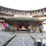 Backpacking in Fujian Province: Yuchang Earth Building, Xiaban Village