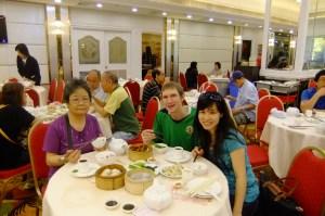 Tea and Dim Sum in Hong Kong!