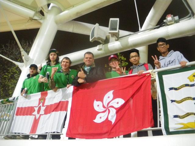 Watching Hong Kong national team