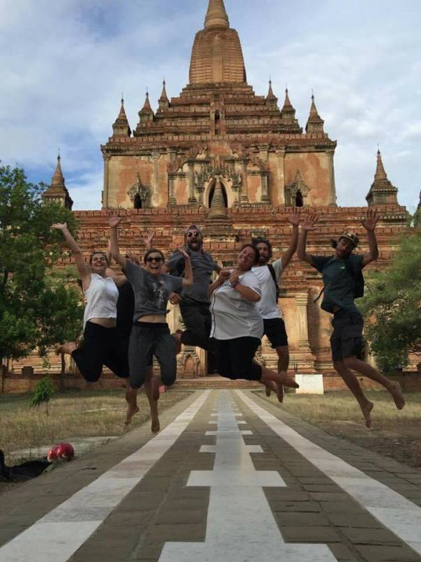 Bagan Biker Gang having fun (Myanmar, 2016).