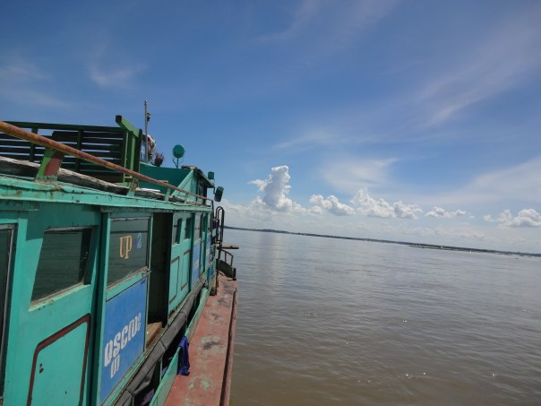 The boat view (Myanmar, 2016).