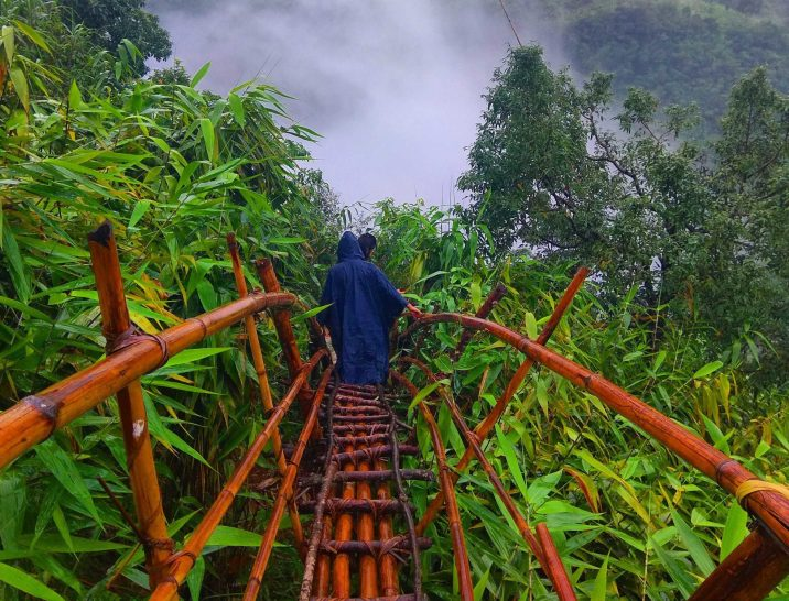 What is the Bamboo trail of Meghalaya, northeast India?