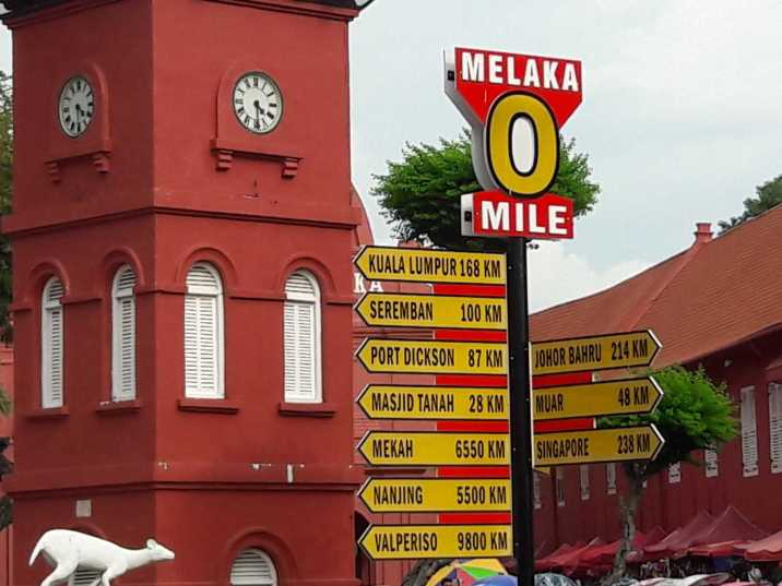 What are the places to see in World Heritage Site Melaka?