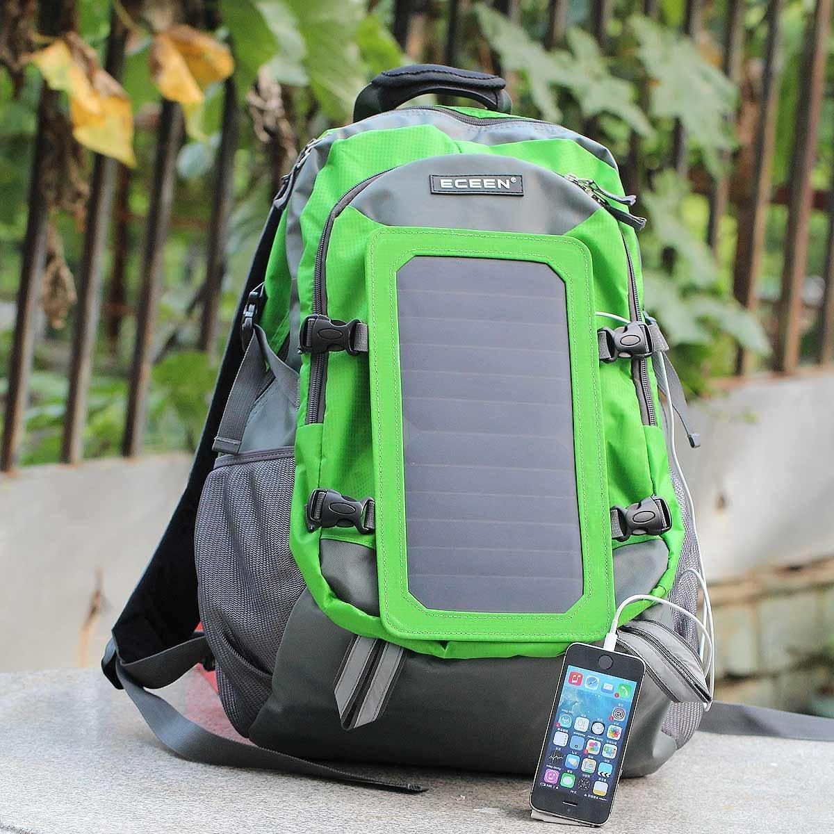 Eceen 174 7watts Solar Backpack Solar Panel Bag Poly