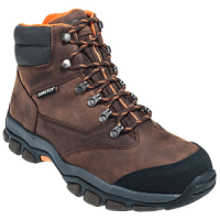 Wolverine Boots Men's Brown Harden 4978 Steel Toe Gore-Tex EH Hiking Boots