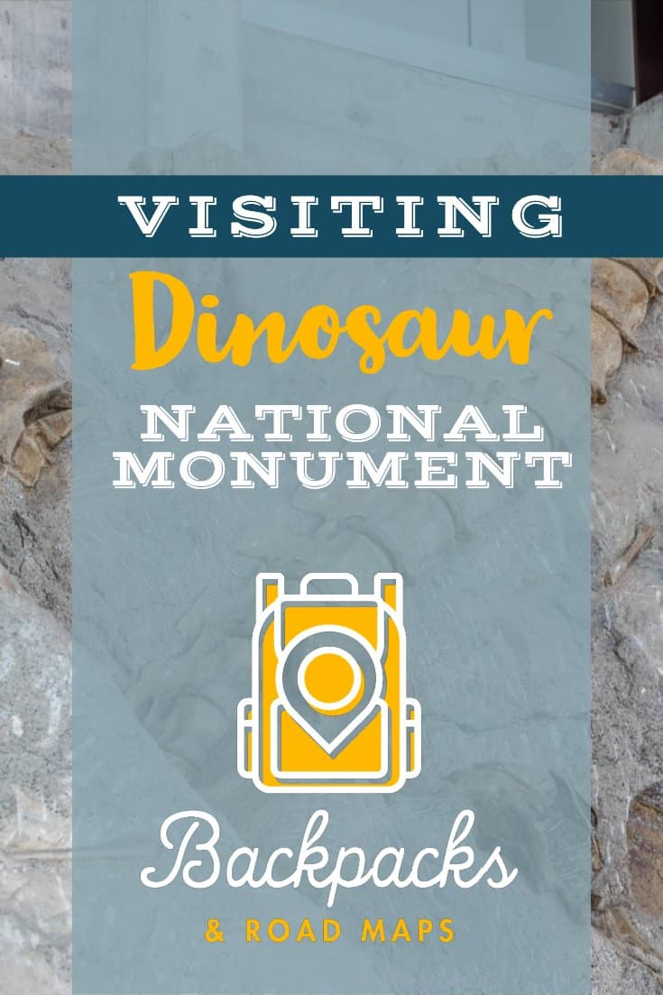 Dinosaur National Monument | How to get there | When to visit | Fossils | Dinosaur Bones | Other Activities | backpacksandroadmaps.com