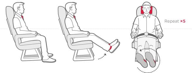 tips on surviving on long haul flights