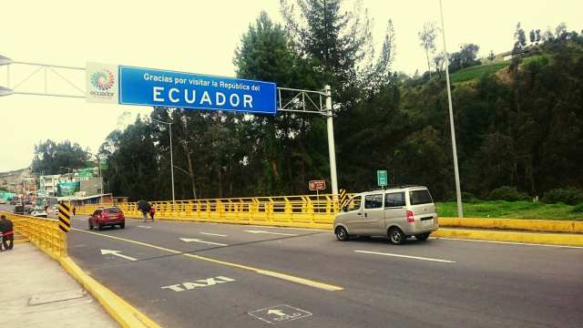 Ecuador Colombia Border Crossing Backpackways