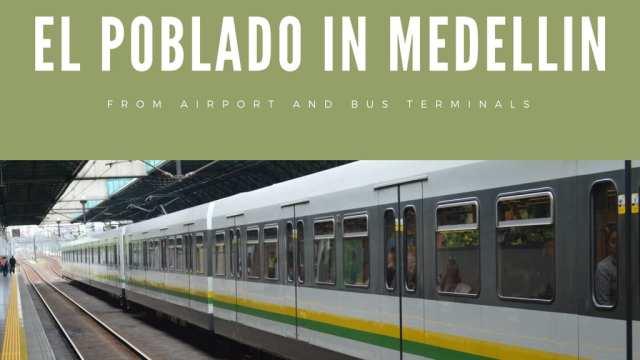 Medellin Airport Bus Terminal El Poblado