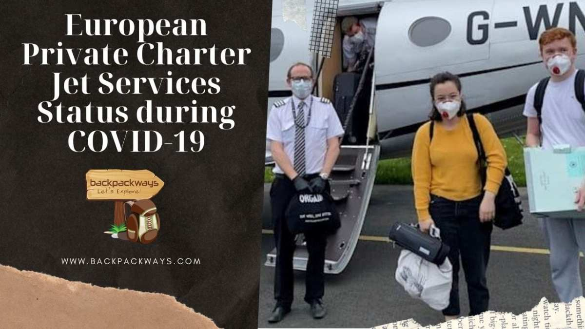 European Private Charter Jet Services Status during COVID-19