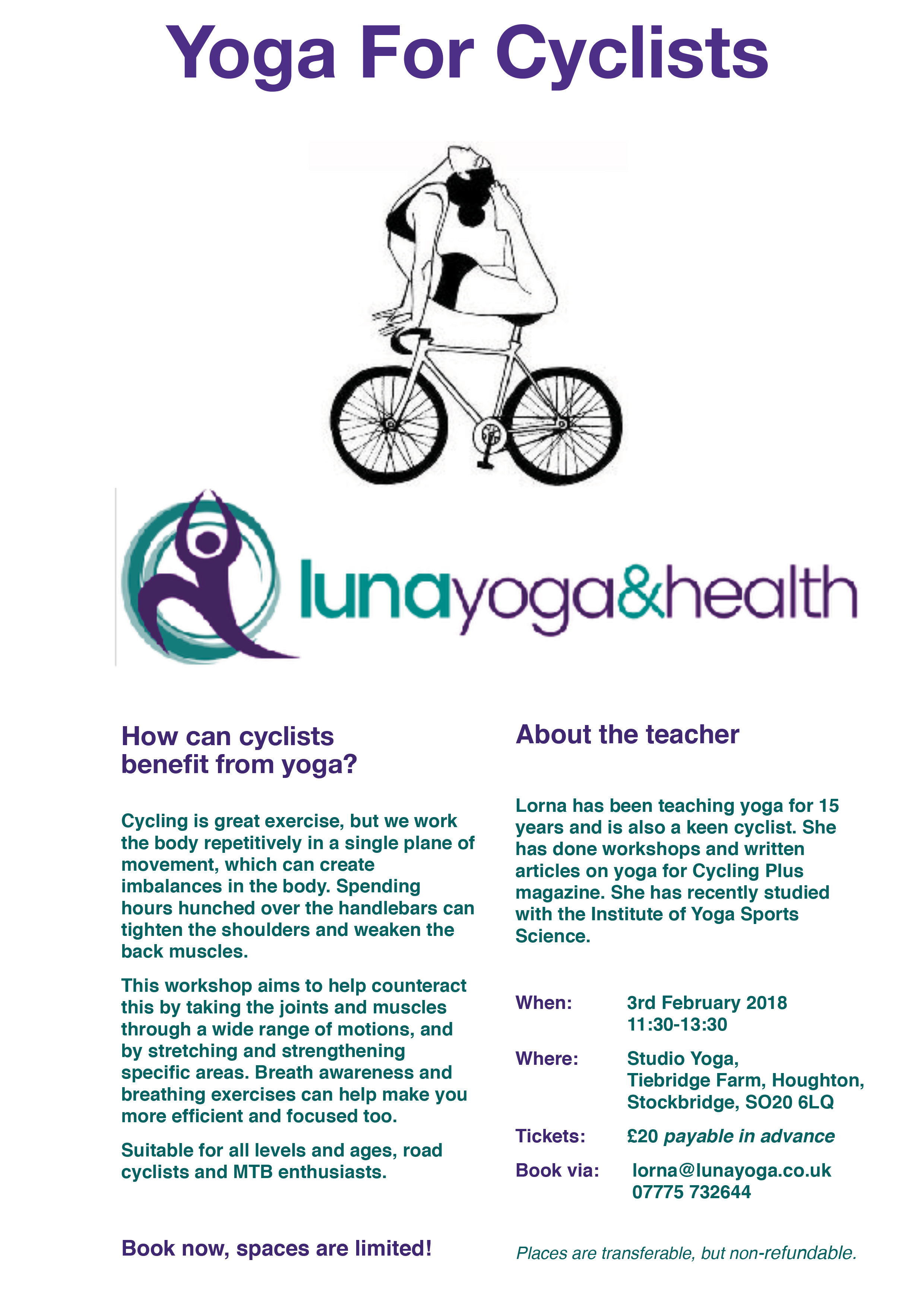 yoga for cycling