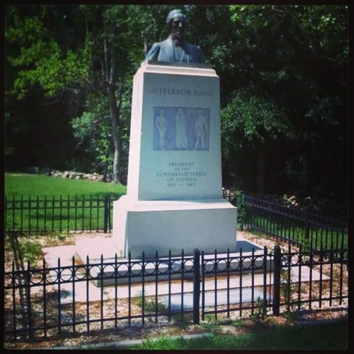 Jefferson Davis Capture Site