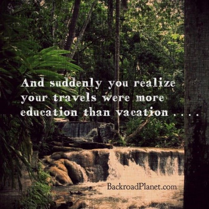 Travel Education Vacation Quote Meme