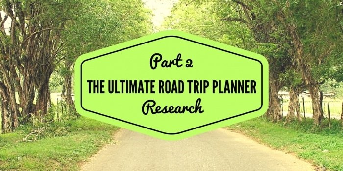 Ultimate Road Trip Planner Research