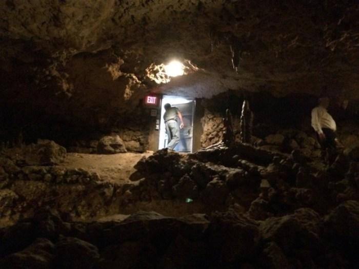 Door to Florida Caverns