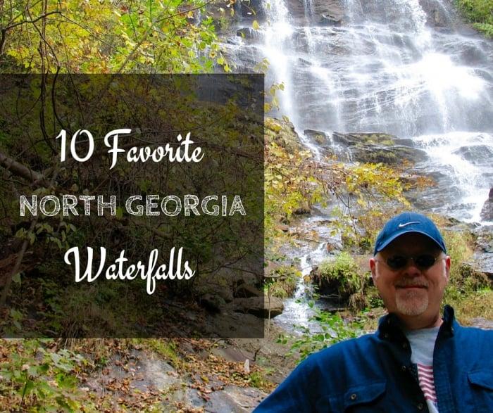 10 Favorite 3 - 5 Elusive North Georgia Waterfalls