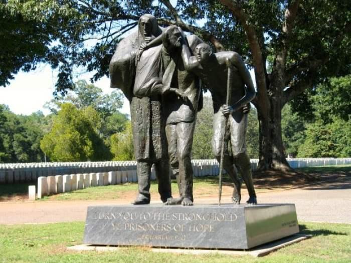Andersonville NHS Sculpture Cemetery