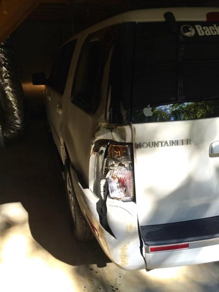 Damaged Mountaineer