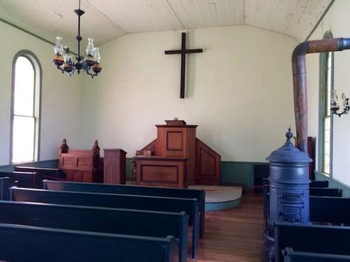 Inside Santa Claus Church