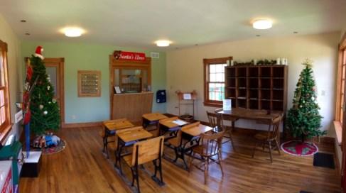 Inside Santa Claus Post Office Indiana