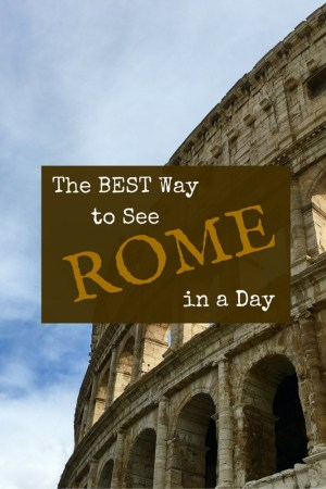 EXPLORE 3 - The Best Way to See Rome in a Day
