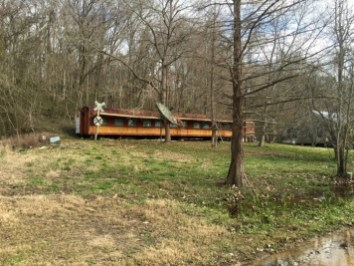 Train Car Ghost Town Rodney Mississippi