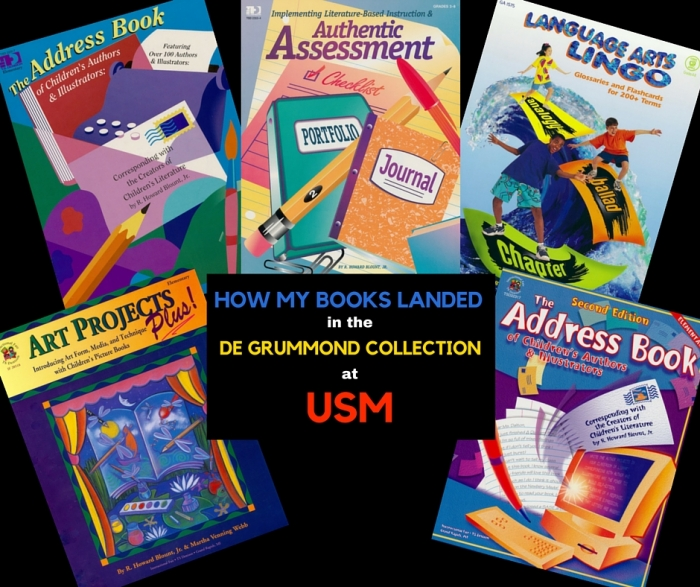 How my Books Landed in the de Grummond Collection at USM