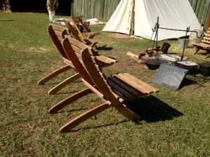 Fort Foster Seminole War Reenactment Florida Camp