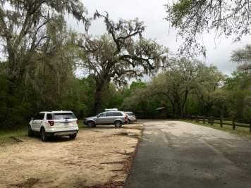 Steinhatchee Falls Florida Parking
