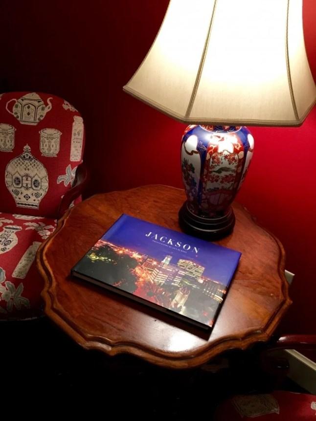 Lamp Table Asian Suite Fairview Inn Jackson Mississippi
