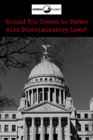 EDITORIAL: Some say yes, others say no! Thoughts and observations to help you decide whether you should travel to states with discriminatory laws.
