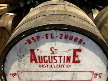 St Augustine Distillery Barrel