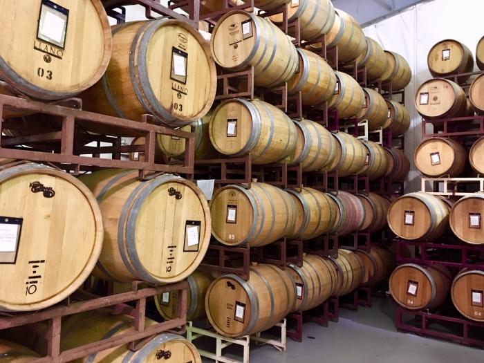 Llano Estacado Winery Barrels