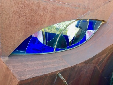 Robert Bruno Steel House Lubbock Texas Stained Glass