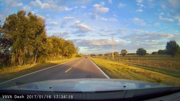 2017 0116 173419 015A - The VAVA Car Dash Cam: A Roadtripper's Best Friend