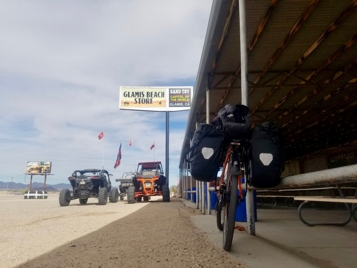 Glamis1300 - A Solo Bike Ride Across the Southern Tier