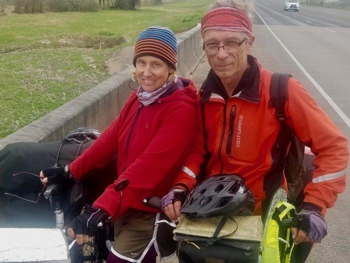 WorldTourcouple1300 - A Solo Bike Ride Across the Southern Tier