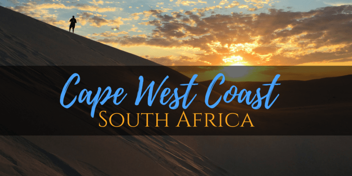Cape West Coast - Trek the Cape West Coast, South Africa