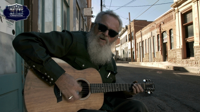 PapaGene The Musician Towns - Discover Clifton, Arizona, with Backroad Planet and TOWNS