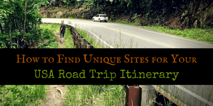 How to Find Unique Sites - Design Your Own Louisiana Road Trip