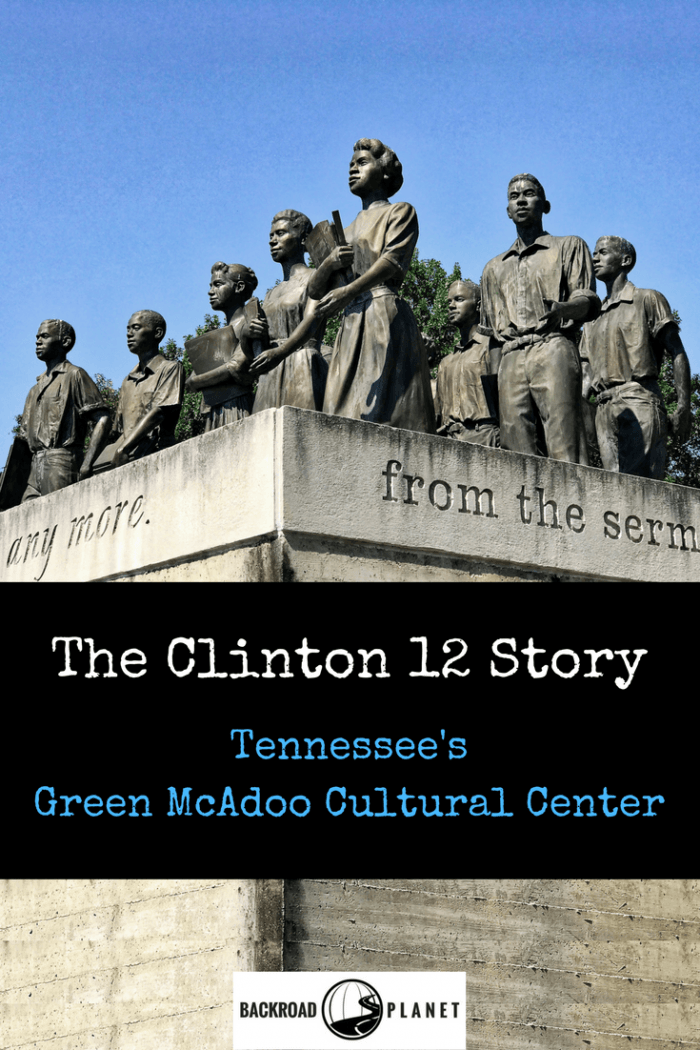 Relive the Clinton 12 story, an all but forgotten account of desegregation during the Civil Rights Movement, at Tennessee's Green McAdoo Cultural Center. #travel #TBIN #civilrights