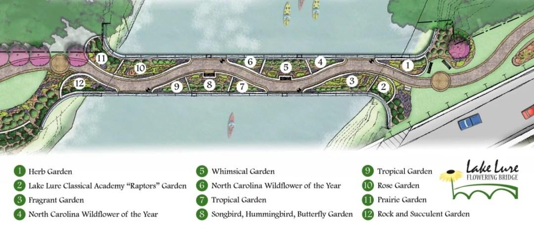 LakeLureFloweringBridgeMapKey - Discover Chimney Rock State Park & Lake Lure, North Carolina