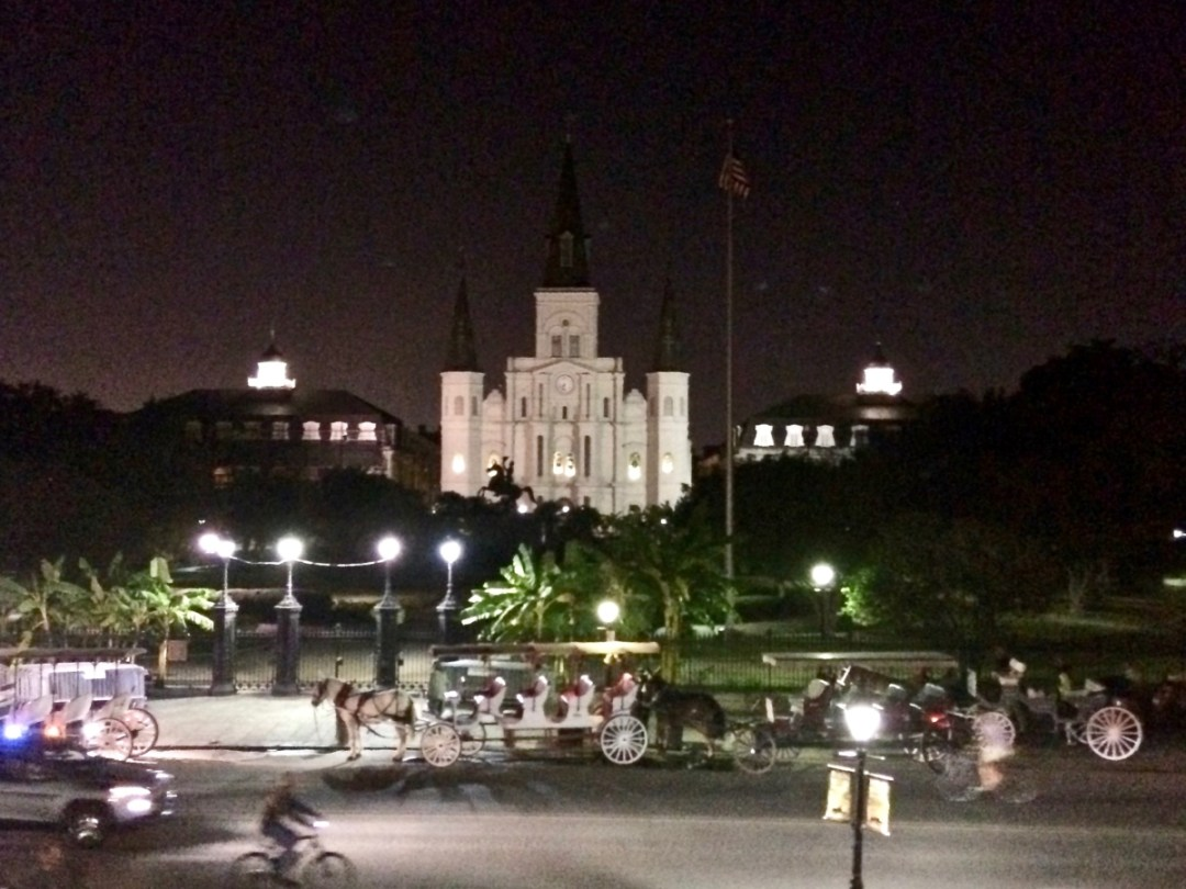 St Louis Cathedral at NIght - Uncover the Secrets of New Orleans Neighborhoods