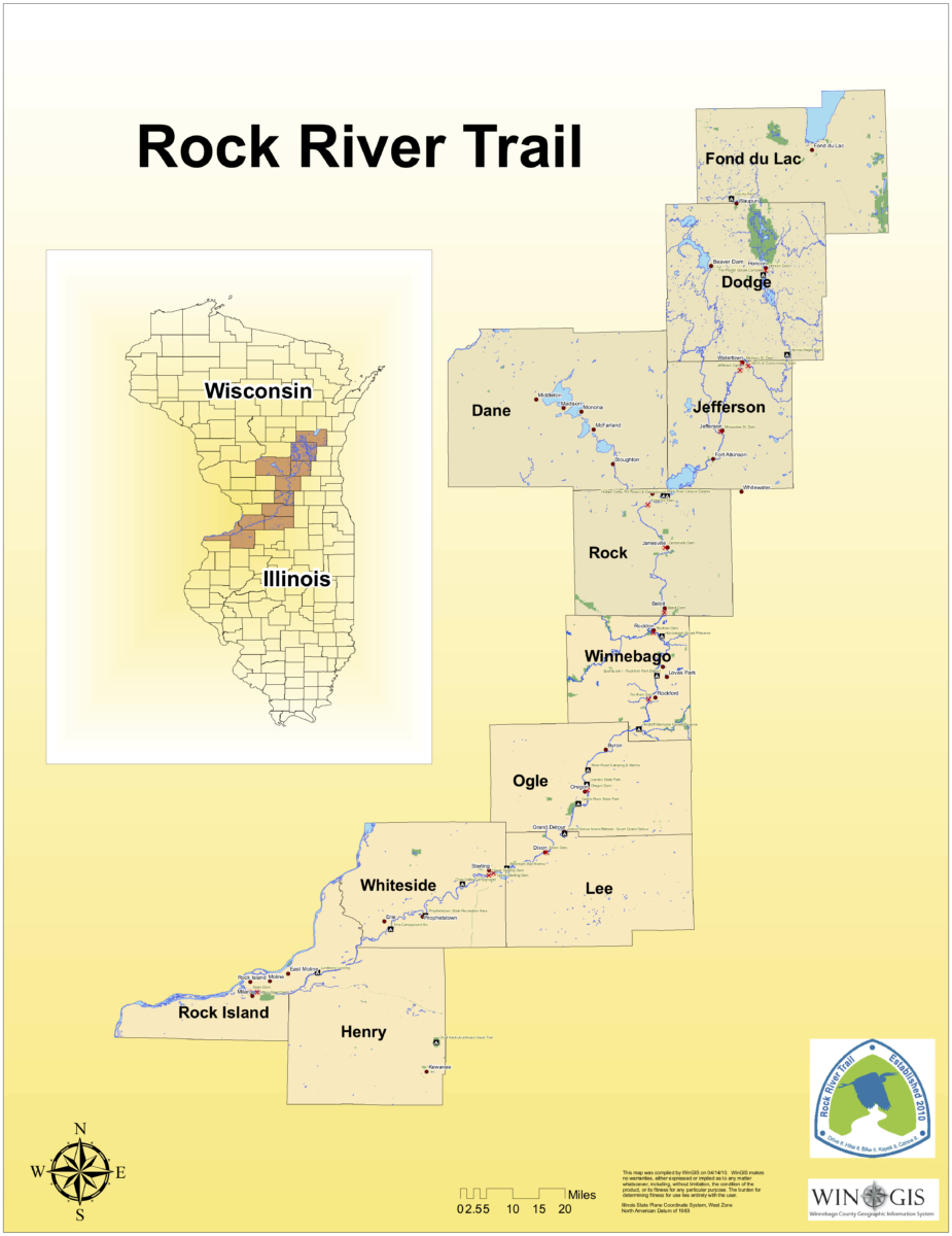All Counties - Explore the Rock River Trail through Wisconsin & Illinois